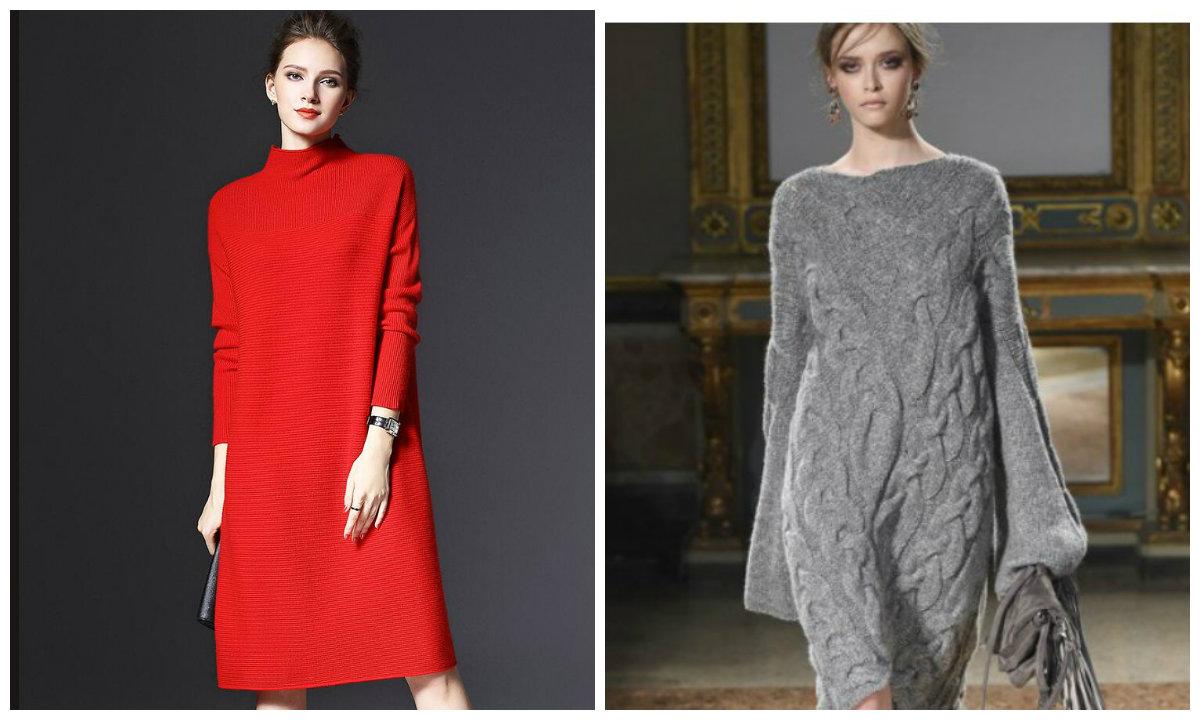 moda feminina 2019, vestidos de malha