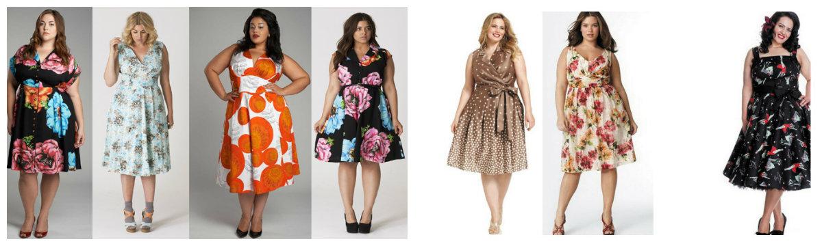 moda plus size 2019, vestidos com ornamento floral, vestidos camisas
