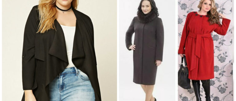moda plus size 2018, casacos leves de cor cinza, vermelha, preta