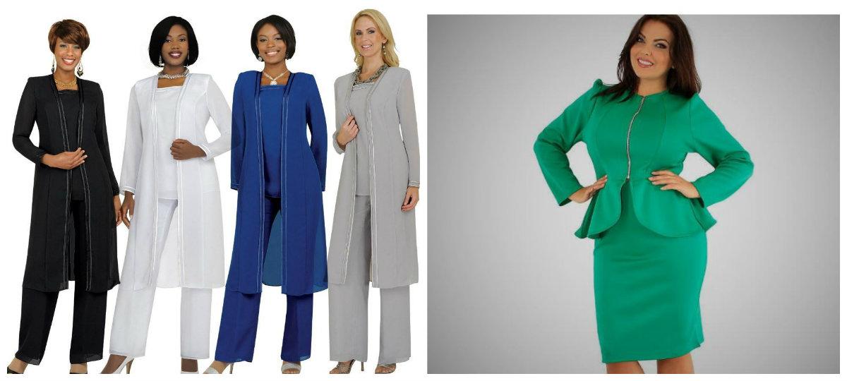 moda plus size 2019, terno com calcas e saia