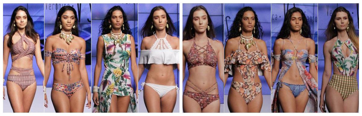 roupas de banho 2018, designer Veronica Santonili