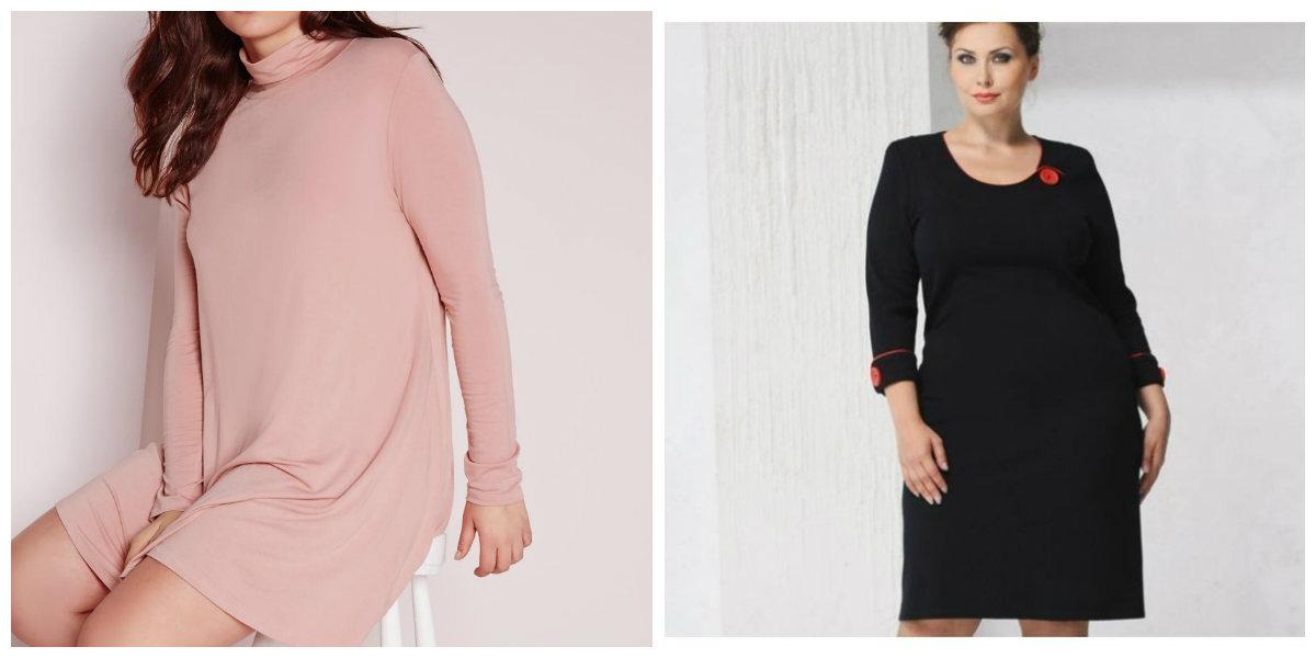 roupas plus size 2019, vestidos com saia estreita