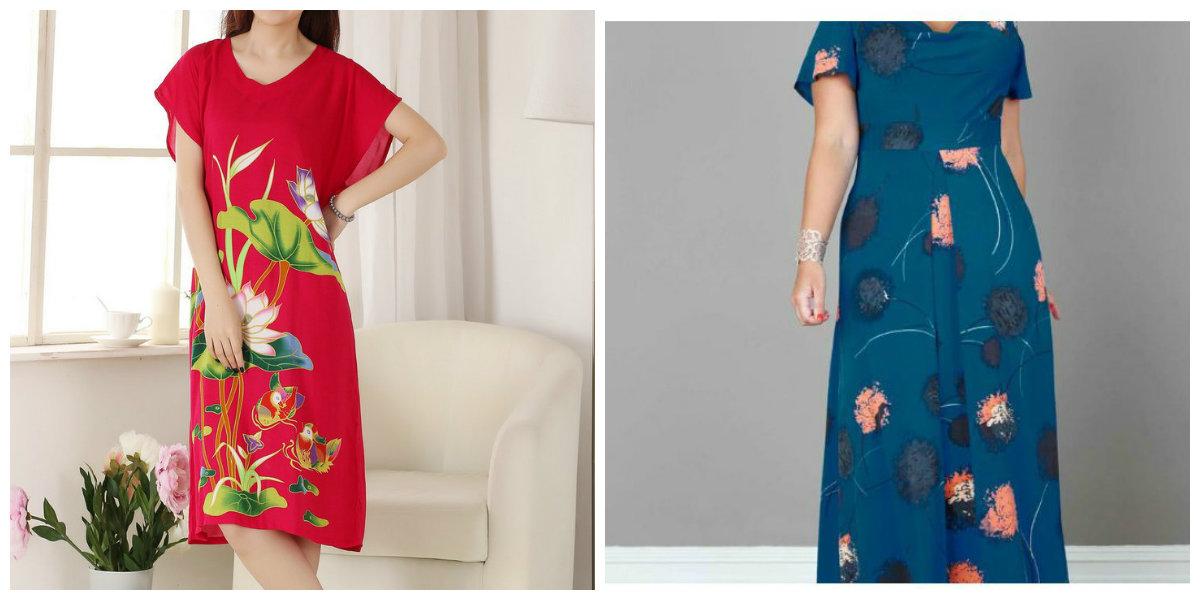 roupas plus size 2019, vestidos com silhueta A