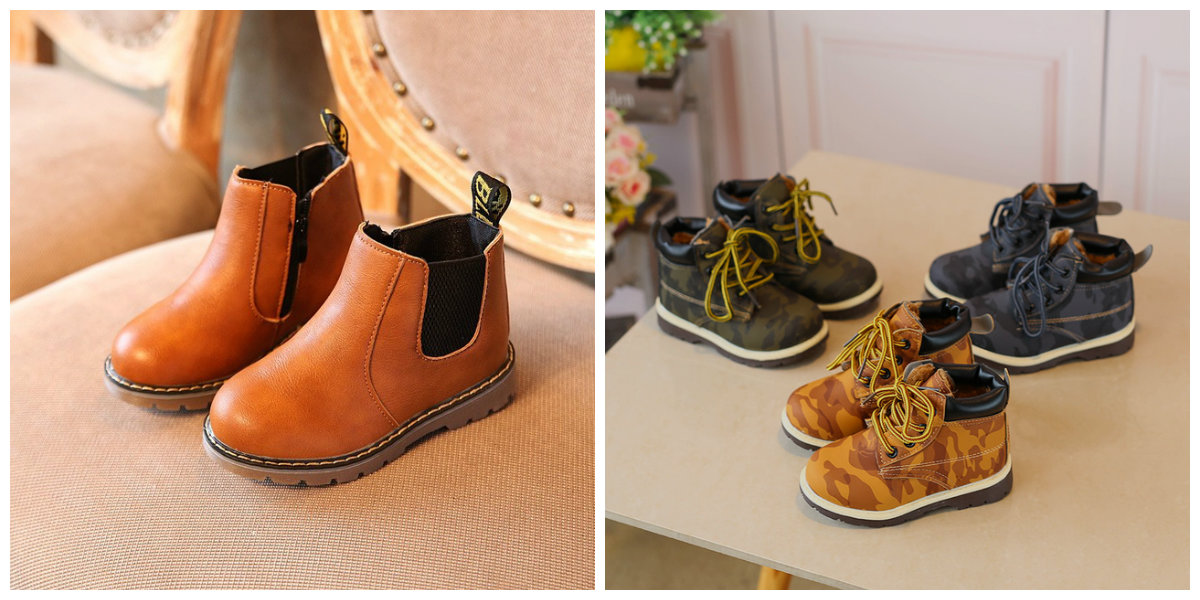 sapato infantil masculino, botas para meninos