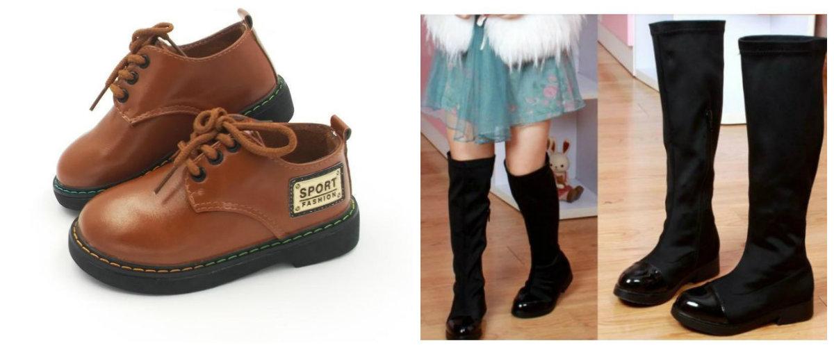 sapatos infantil 2018, botas de veludo