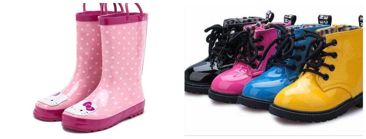 sapatos infantil 2018, botas de borracha