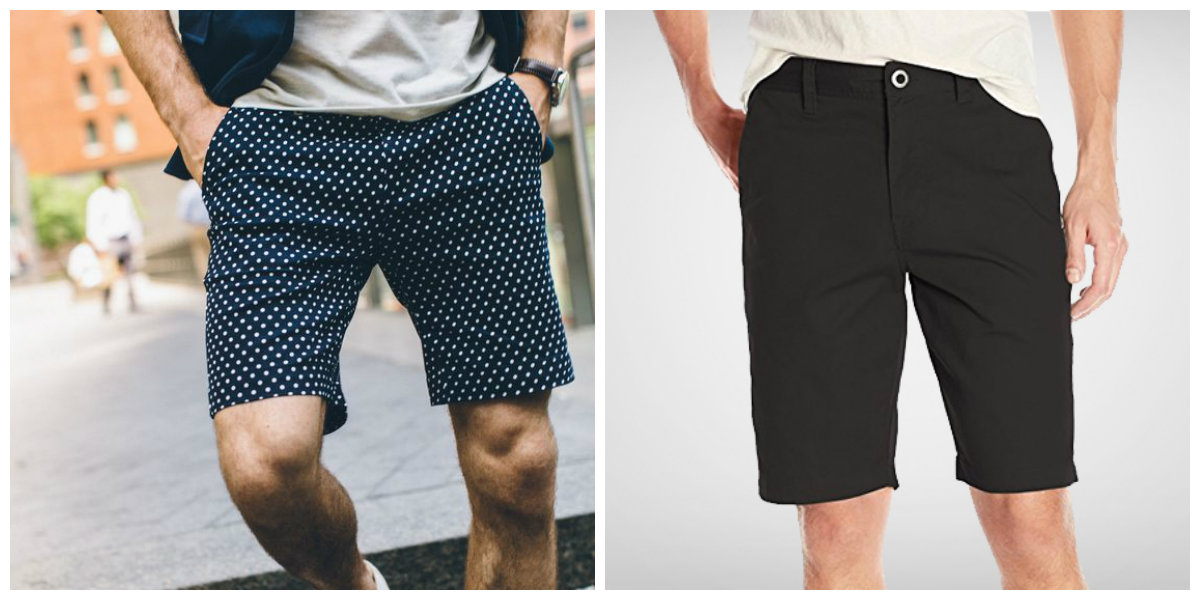 short masculino 2018, shorts transformadores