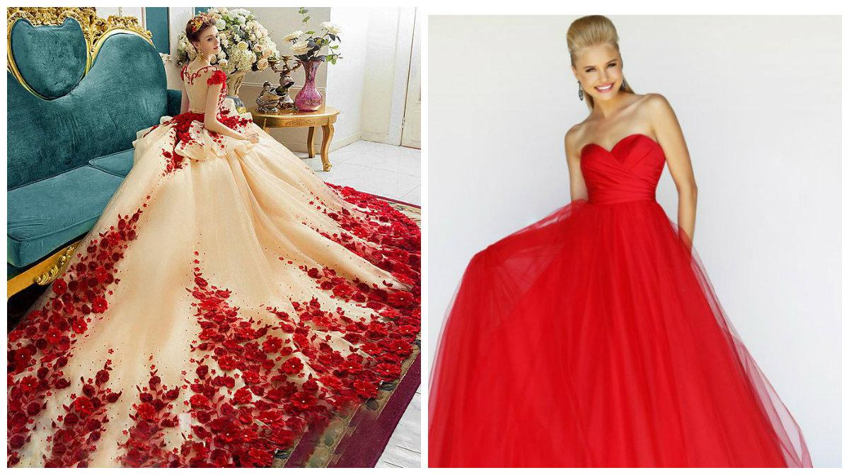 vestidos de formatura 2018, cor vermelho
