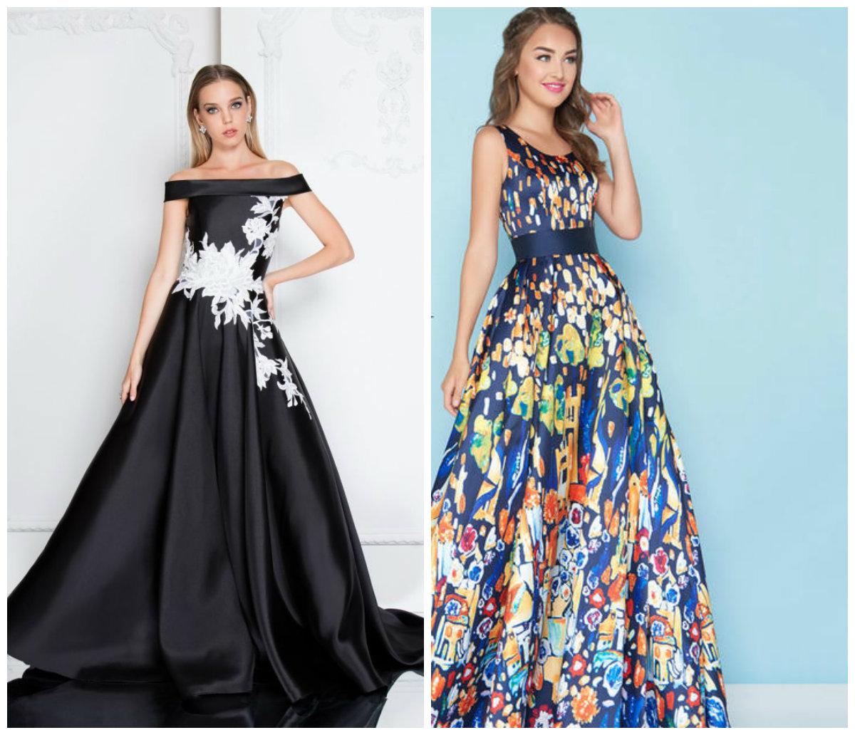 vestidos de formatura 2018, vestido longo