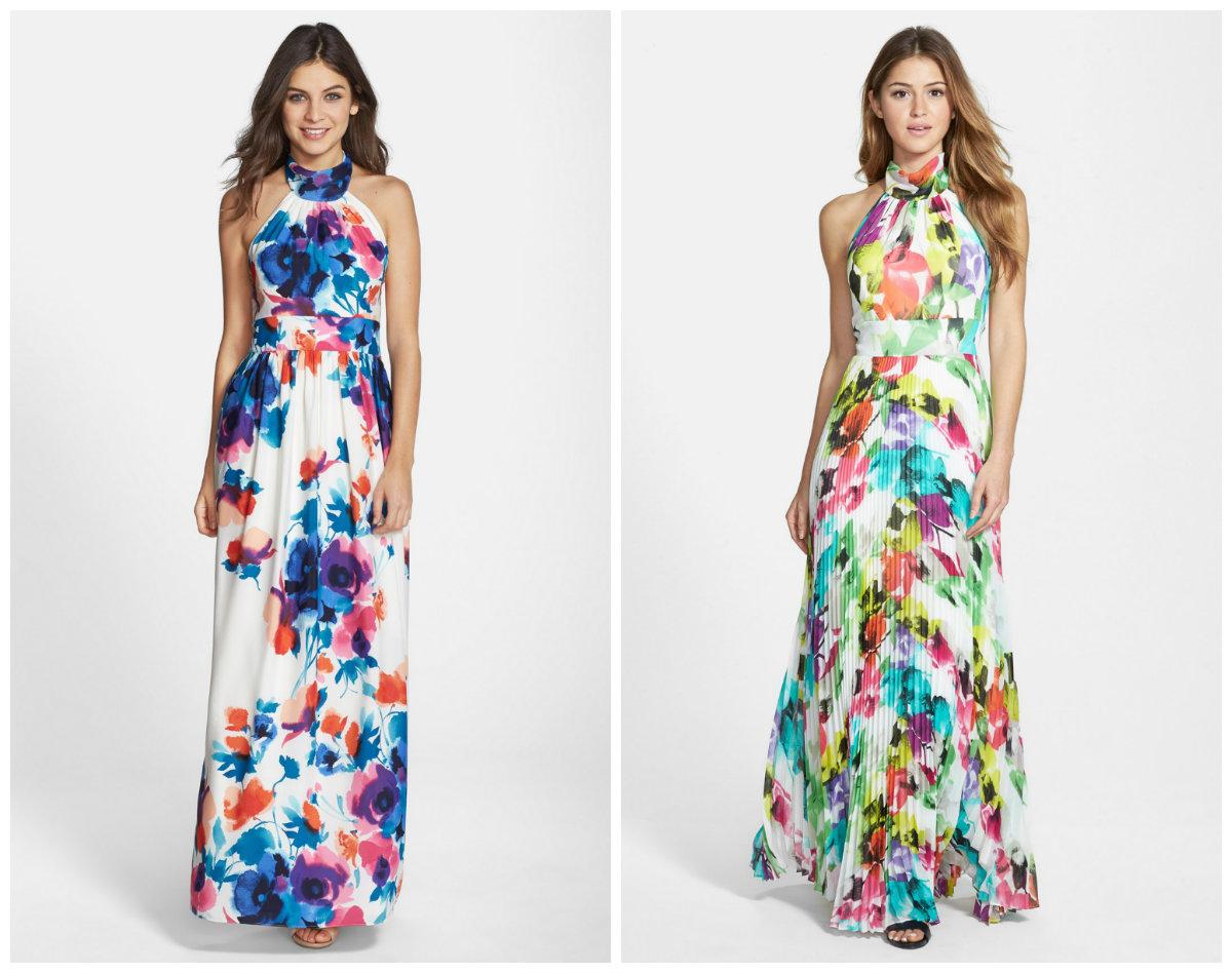 vestidos femininos 2019, vestidos de chifon, bordado floral