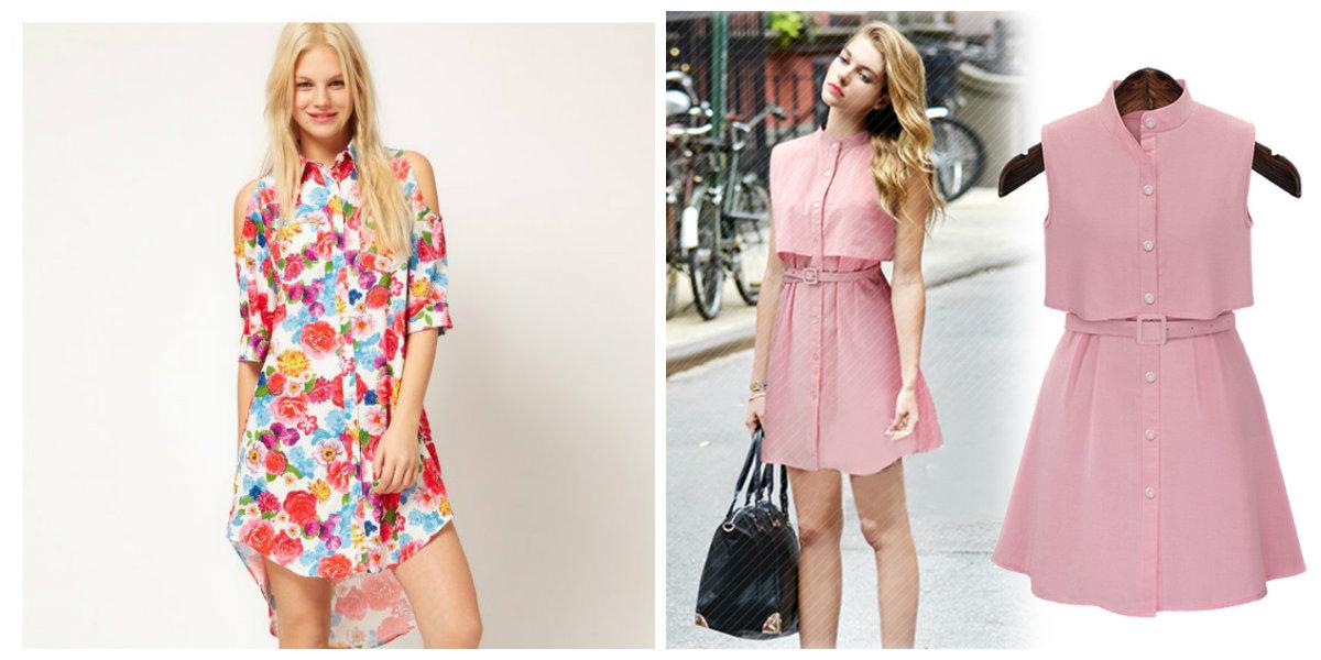 vestidos femininos 2019, vestidos camisas, bordado floral
