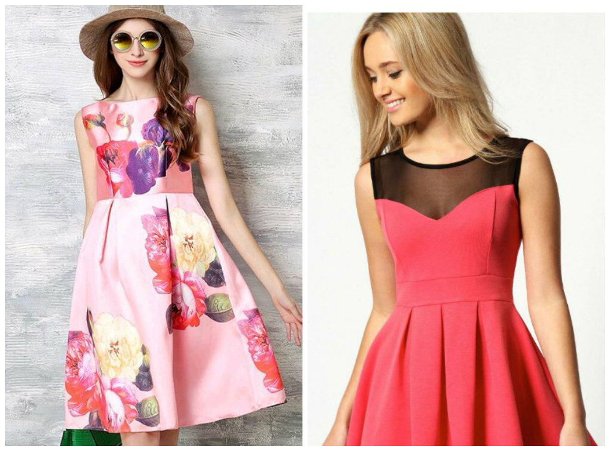 vestidos femininos 2019, bordado floral, cor rosa