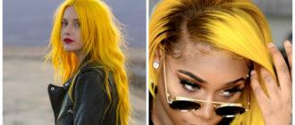 cabelo amarelo, tom de cabelo ensolorado