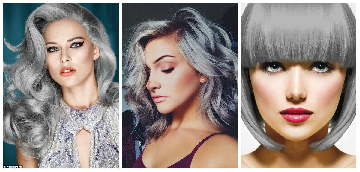 cabelo cinza, cabelo prateado