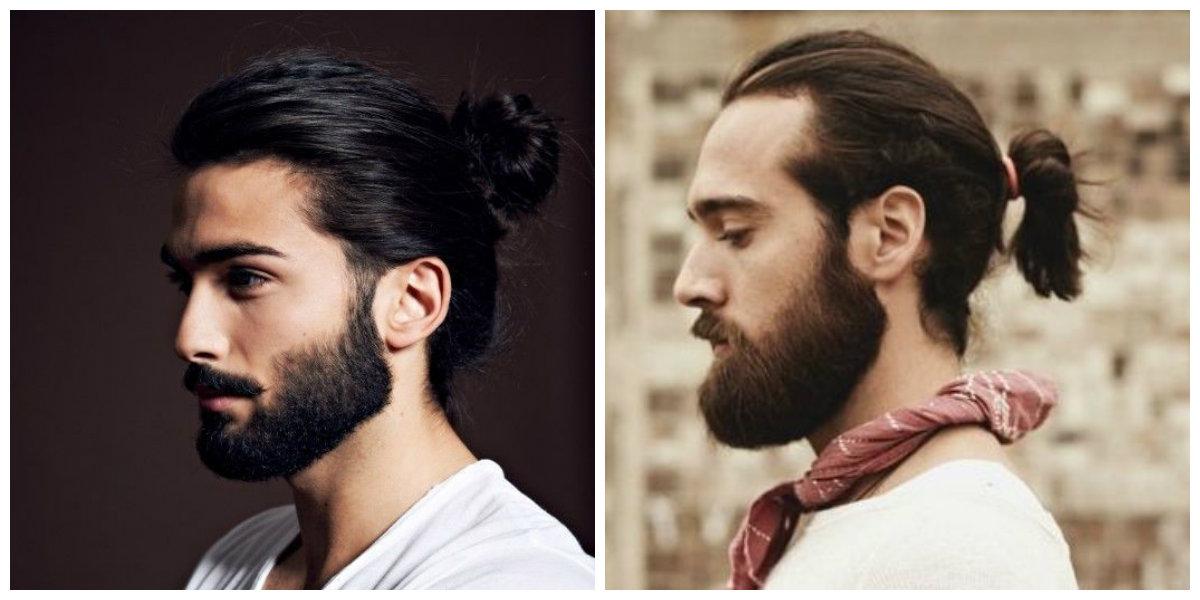 cabelo masculino grande, rabo de cavalo