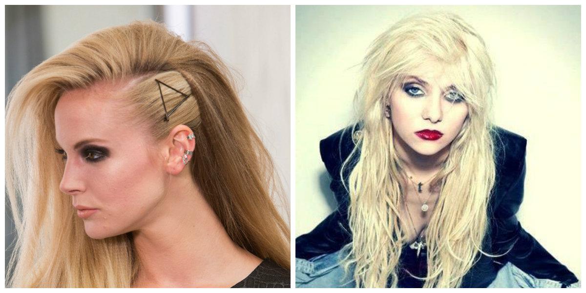 cabelo rock, cabelo comprido rock