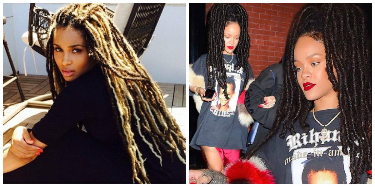 cabelo rock, penteado dreadlocks