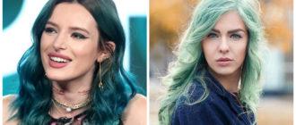 cabelo verde, tom de cabelo verde