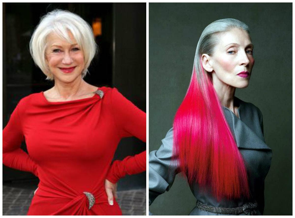 cobrir cabelo grisalho, interessantes dicas para mulheres maduras