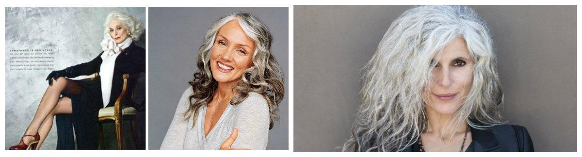 cobrir cabelo grisalho, senhoras maduras elegantes