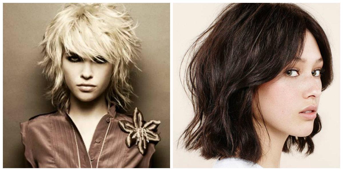 corte de cabelo shag, shag curto