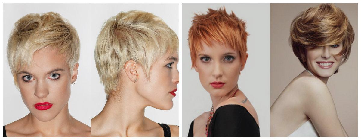 penteados curtos 2019 , cortes de cabelos curtos