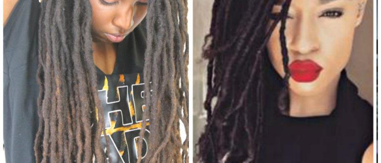 penteados dreadlocks, penteados atuais