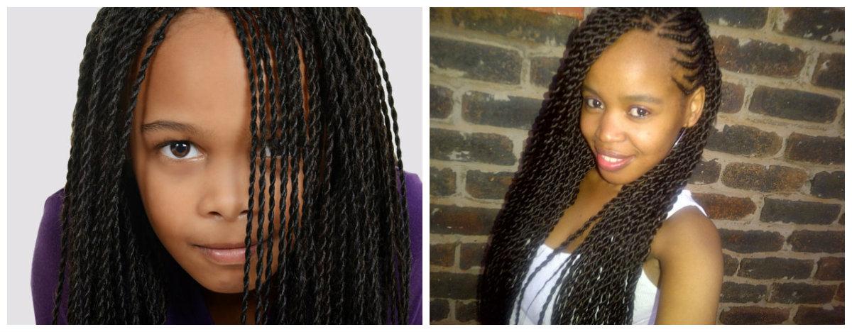 penteados para meninas, trancas africanas