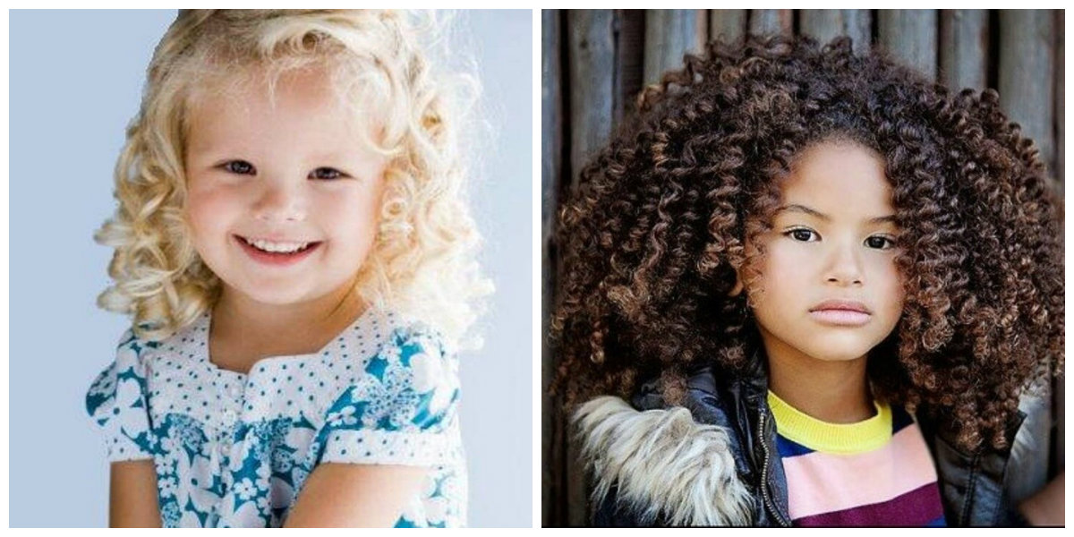penteados para meninas, penteados encaracolados