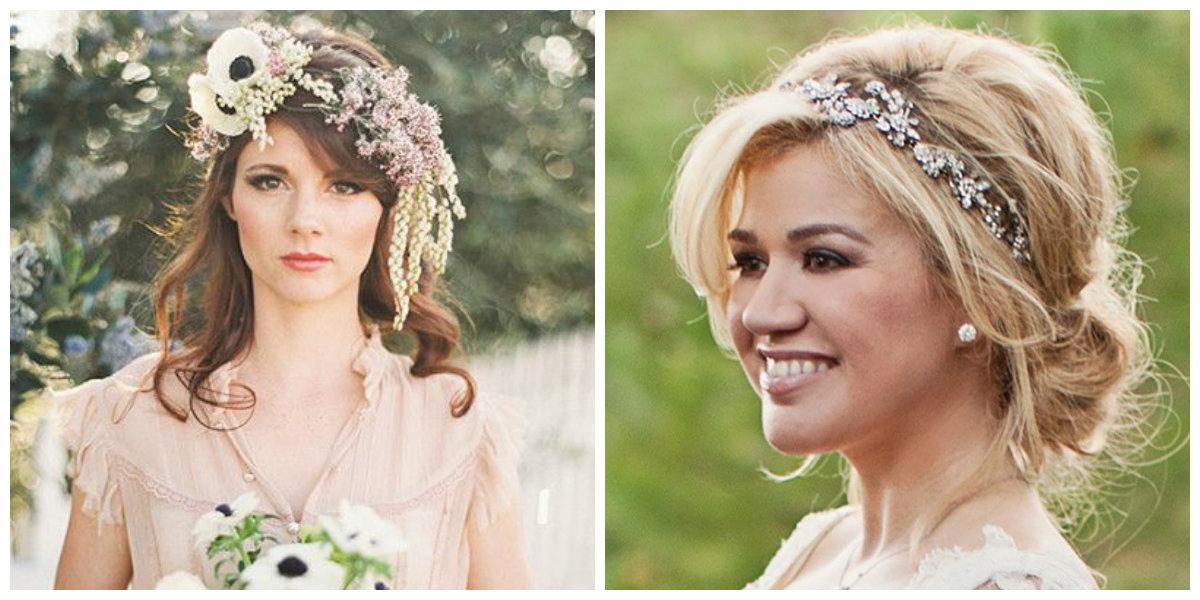 penteados para noivas, penteado com coroa flora;