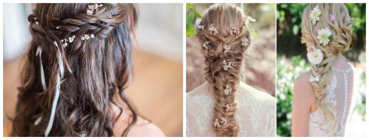 penteados para noivas, cores naturais