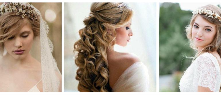 penteados para noivas, casamento rustico