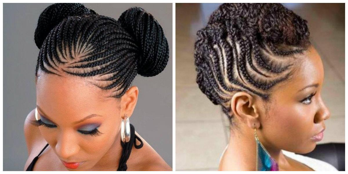 penteados tranças afros, penteados modernos