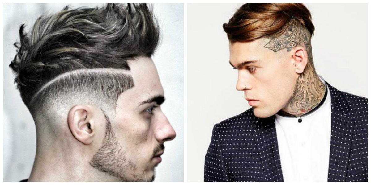 tatuagem de cabelo, corte de cabelo undercut