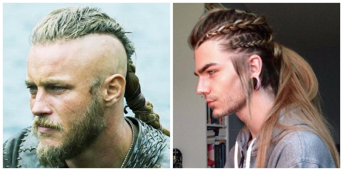 tranças masculinas, penteados trançados para vikings