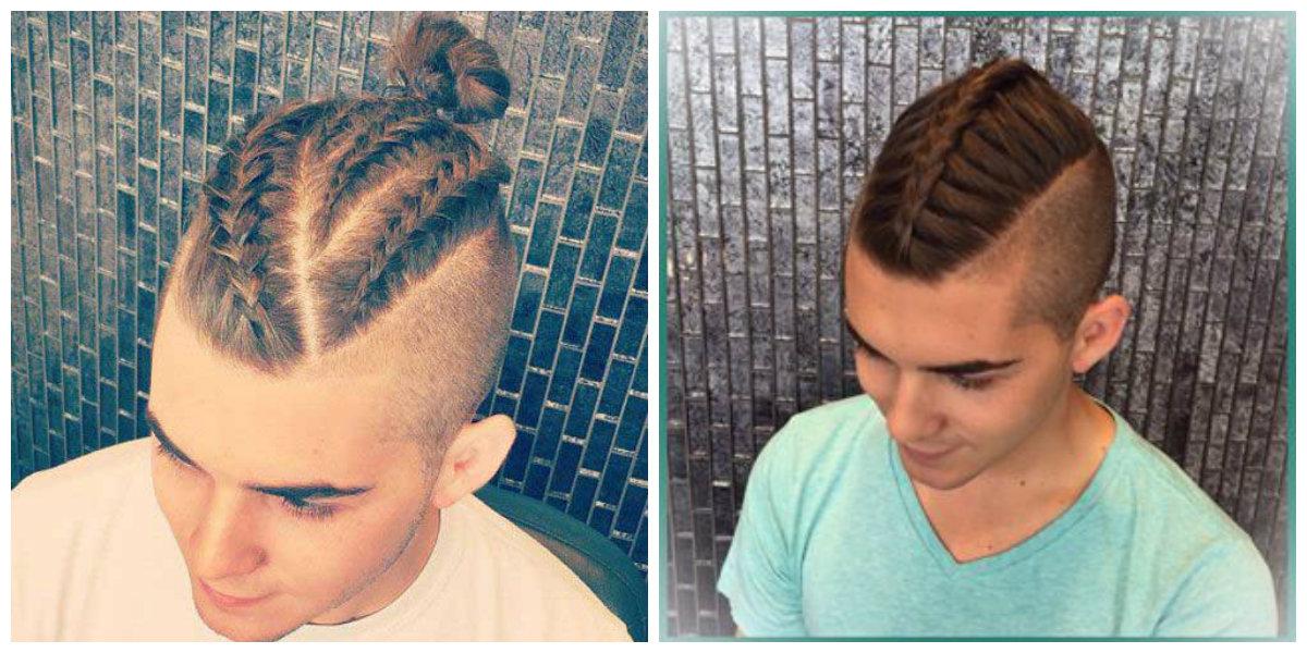 tranças masculinas, penteado atual masculino