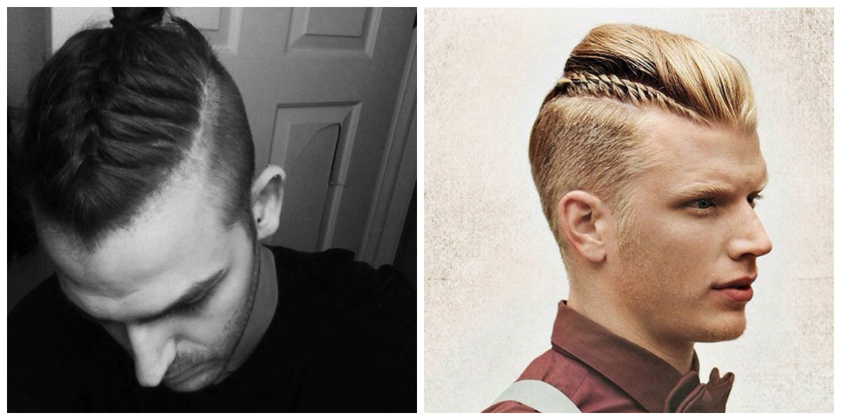 tranças masculinas, corte de cabelo undercut