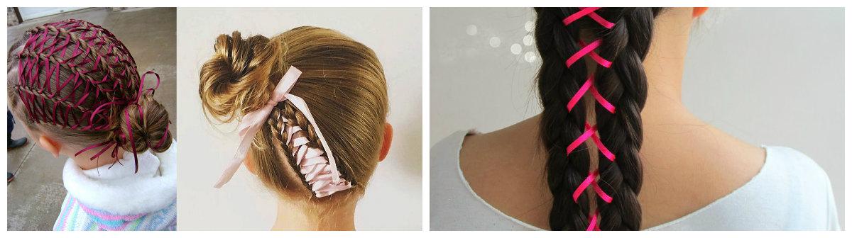cabelo elegante, penteado de espartilho