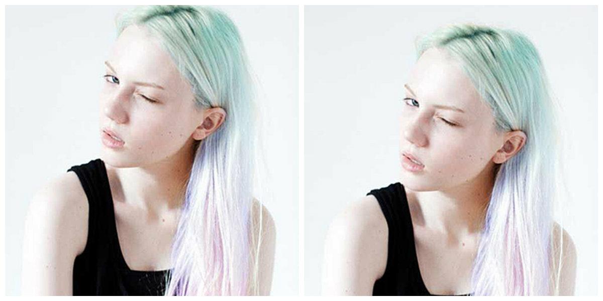 cabelo melancia, cabelo pastel