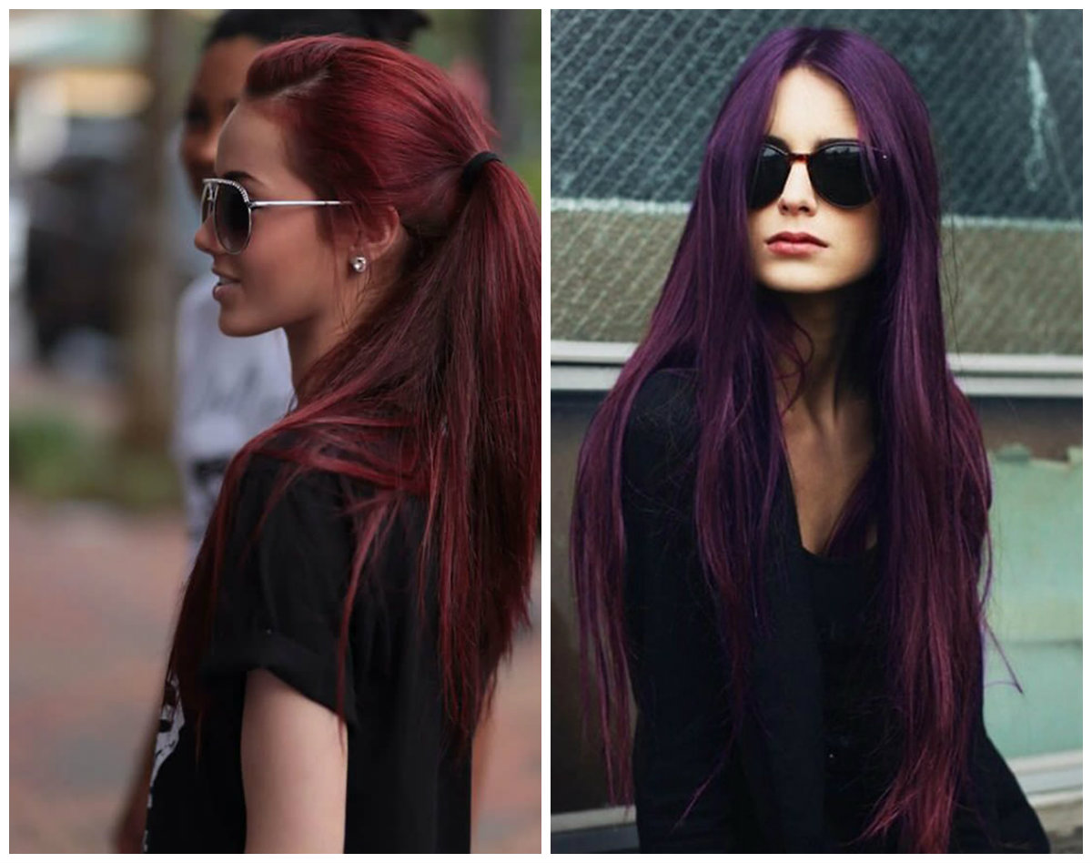 cor de cabelo borgonha, cor de cabelo borgonha