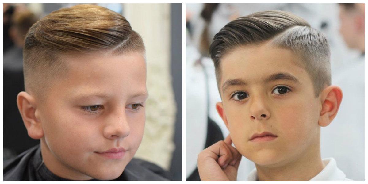 corte de cabelo masculino infantil, degrade alto