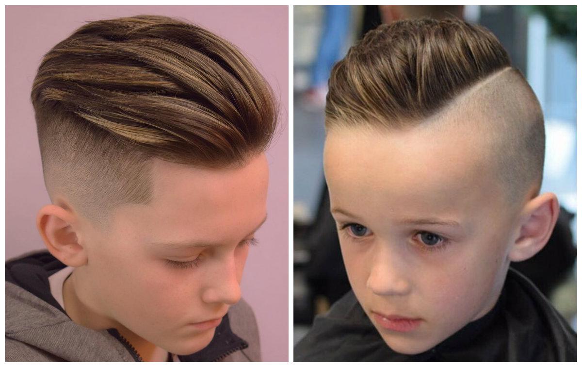 corte de cabelo masculino infantil, undercut