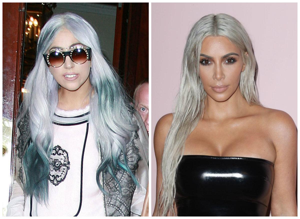 penteados para o Natal, cabelo cinza