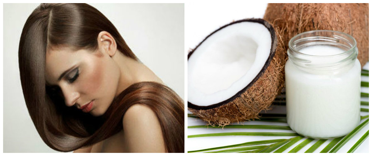 produtos para cabelos, oleo de coco