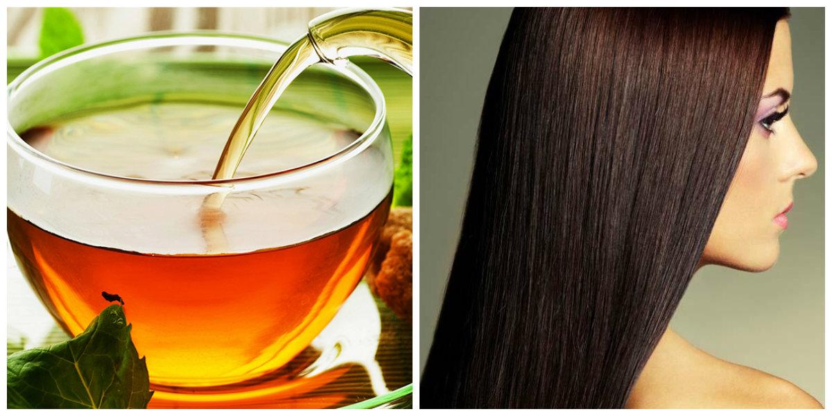 produtos para cabelos, o uso de cha