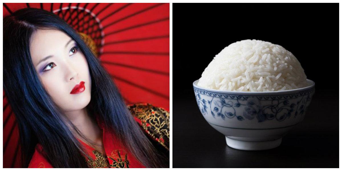 produtos para cabelos, agua de arroz fermentada
