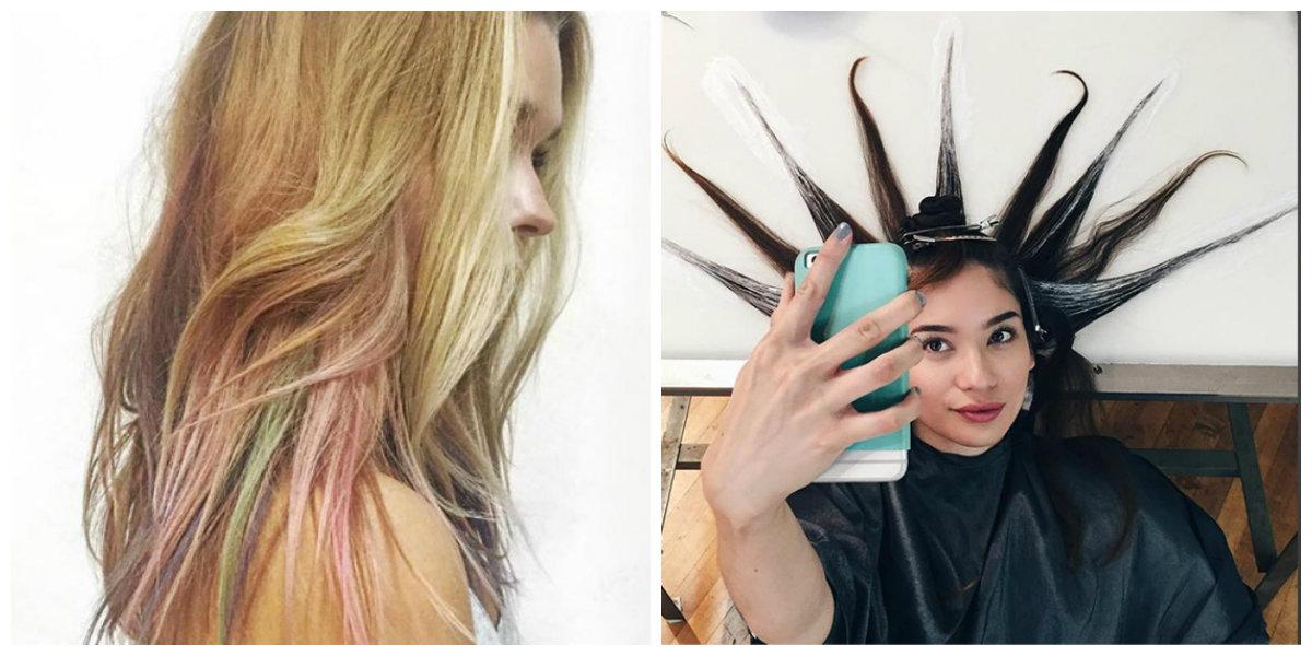 tons de cabelo, tintura fluida