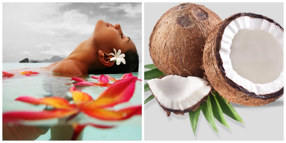 tratamento de cabelo em casa, leite de coco