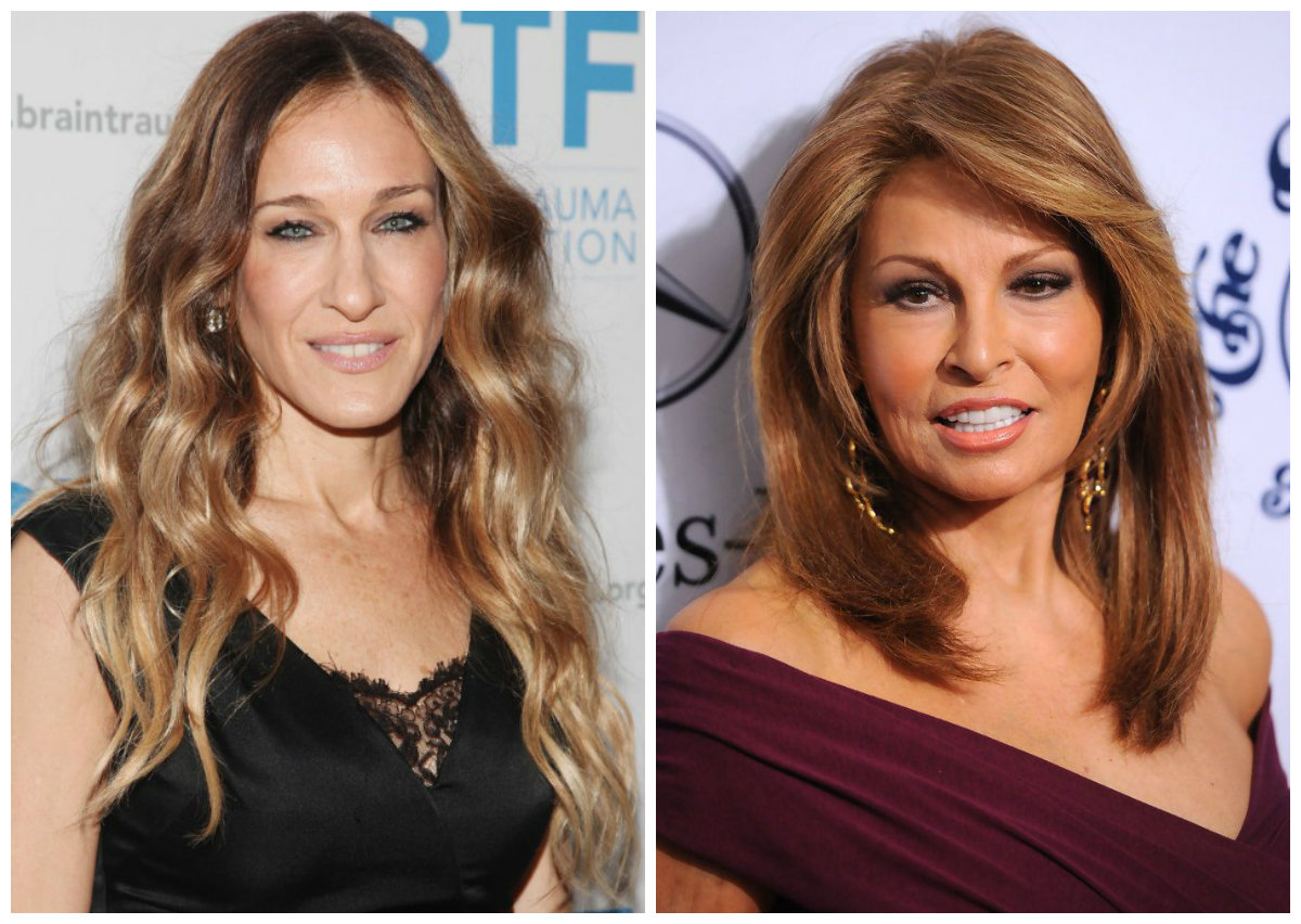 cabelos para senhoras de 50, penteados multicamadas de comprimento longo