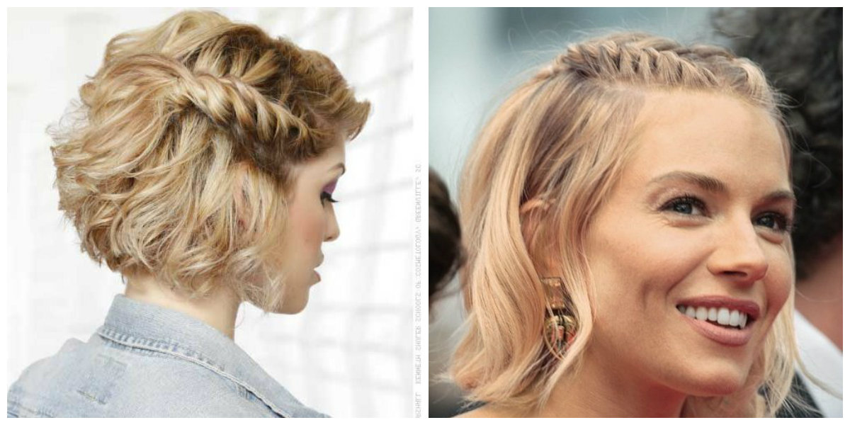 cortes de cabelo curto feminino 2019, cabelo trancado